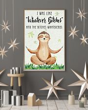 Poster Yoga whatever 24x36 Poster lifestyle-holiday-poster-1