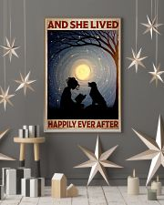 Poster Book happily moon dog 24x36 Poster lifestyle-holiday-poster-1