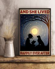 Poster Book happily moon dog 24x36 Poster lifestyle-poster-3