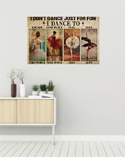 Poster Ballet i dont dance just for fun 36x24 Poster poster-landscape-36x24-lifestyle-01