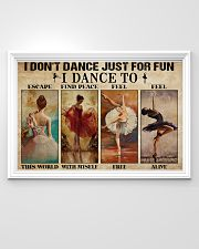 Poster Ballet i dont dance just for fun 36x24 Poster poster-landscape-36x24-lifestyle-02
