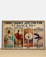 Poster Ballet i dont dance just for fun 36x24 Poster poster-landscape-36x24-lifestyle-03