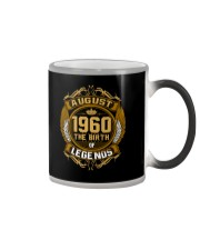 August 1960 The Birth of Legends Color Changing Mug thumbnail