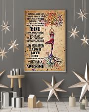 Poster Yoga to smile more 24x36 Poster lifestyle-holiday-poster-1