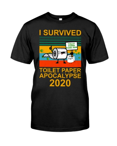 Funny I survived toilet paper