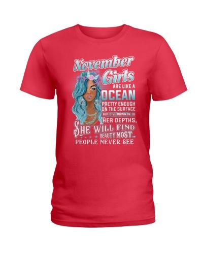 november girls are like a ocean