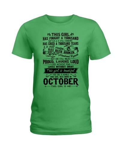 October girl proud