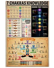 Poster Yoga 7 chakras  24x36 Poster front