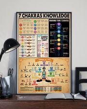 Poster Yoga 7 chakras  24x36 Poster lifestyle-poster-2