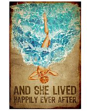 Poster Mermaid happily ever after 24x36 Poster front