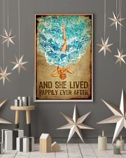 Poster Mermaid happily ever after 24x36 Poster lifestyle-holiday-poster-1