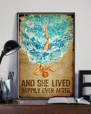 Poster Mermaid happily ever after 24x36 Poster lifestyle-poster-2
