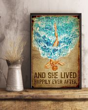 Poster Mermaid happily ever after 24x36 Poster lifestyle-poster-3
