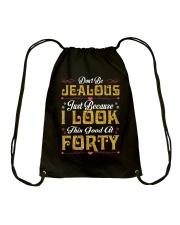 40-Don't Be Jealous Drawstring Bag thumbnail