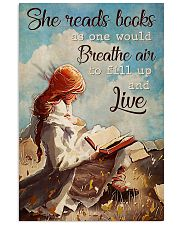 Poster Book breathe air 24x36 Poster front
