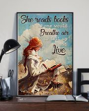 Poster Book breathe air 24x36 Poster lifestyle-poster-2
