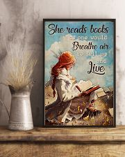 Poster Book breathe air 24x36 Poster lifestyle-poster-3