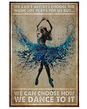 Poster Ballet music life play for us 24x36 Poster front