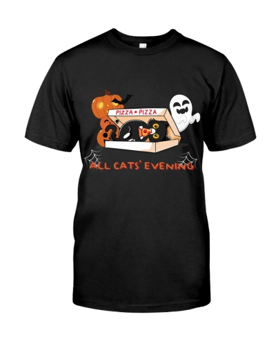halloween all cats evening
