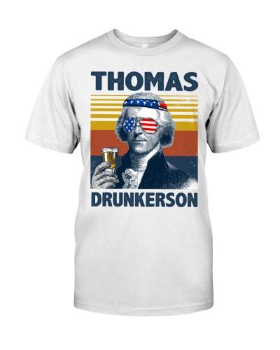 Funny Thomas drinkin