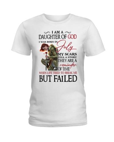 July daughter of god