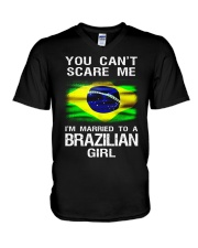 Brazilian Husband V-Neck T-Shirt tile