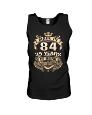 Made in 84-35  years Unisex Tank thumbnail
