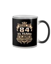 Made in 84-35  years Color Changing Mug thumbnail