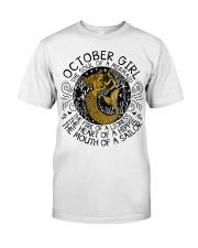 October girl the soul Classic T-Shirt thumbnail
