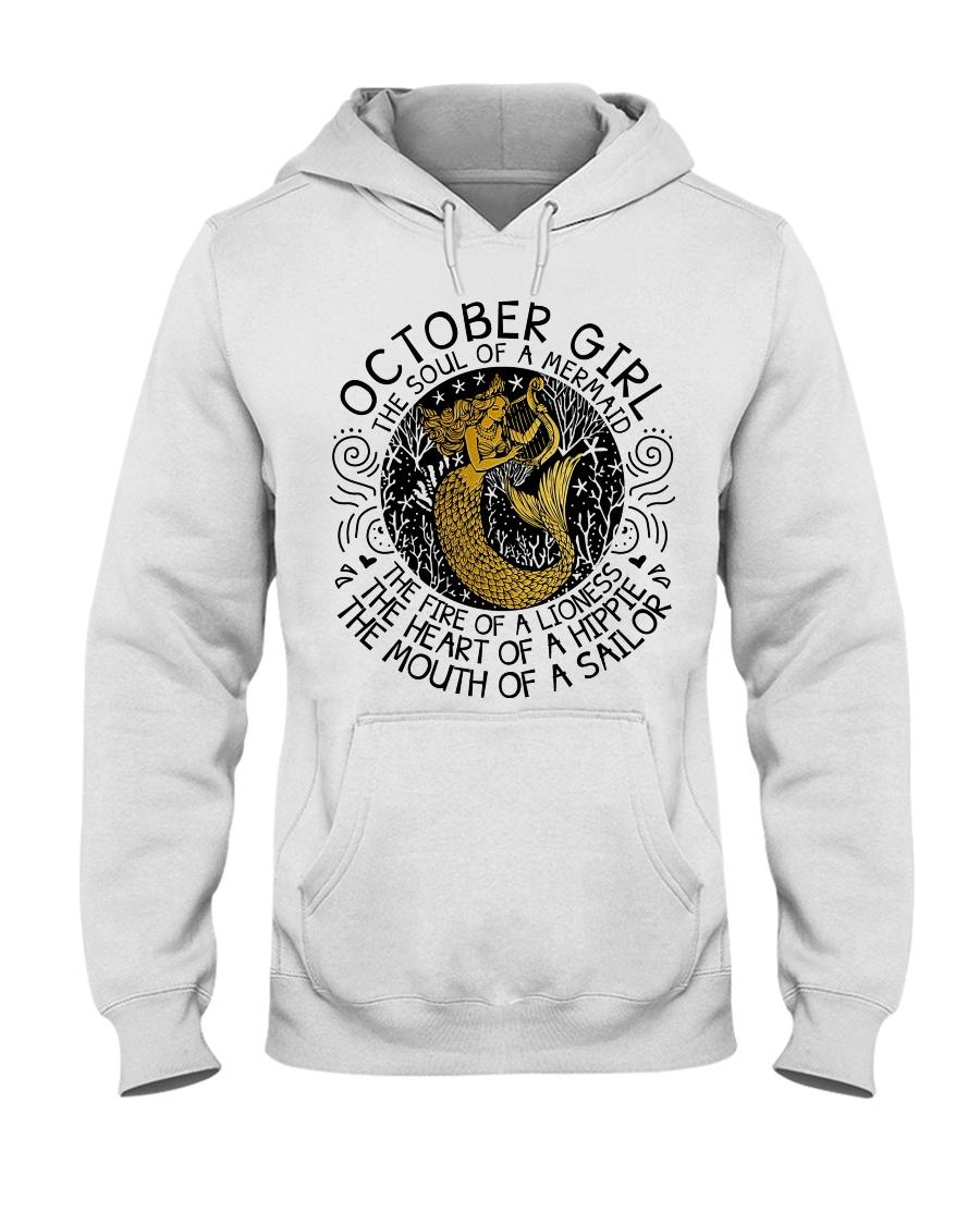 October girl the soul Hooded Sweatshirt