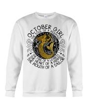 October girl the soul Crewneck Sweatshirt thumbnail