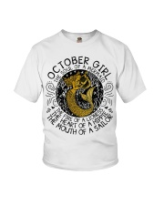October girl the soul Youth T-Shirt thumbnail
