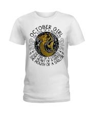 October girl the soul Ladies T-Shirt thumbnail