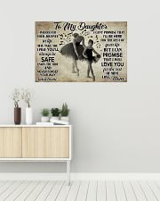 Poster Ballet to my daughter 36x24 Poster poster-landscape-36x24-lifestyle-01