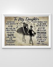 Poster Ballet to my daughter 36x24 Poster poster-landscape-36x24-lifestyle-02