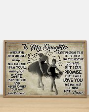 Poster Ballet to my daughter 36x24 Poster poster-landscape-36x24-lifestyle-03