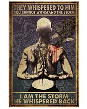 Poster tattoo i am storm man 24x36 Poster front