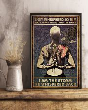 Poster tattoo i am storm man 24x36 Poster lifestyle-poster-3