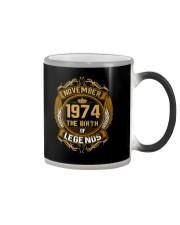 November 1974 The Birth of Legends Color Changing Mug thumbnail