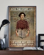 Poster Book into the story 24x36 Poster lifestyle-poster-2