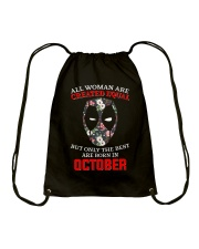 October Created equal Drawstring Bag thumbnail