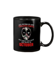 October Created equal Mug thumbnail