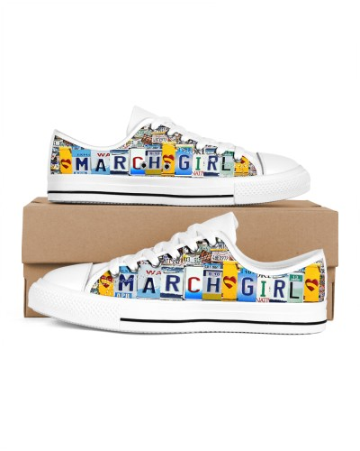 March Girl Shoes lowtop