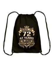 Made in 72-47 years Drawstring Bag thumbnail