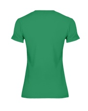 Go luck yourself on Saint Patrick day  Premium Fit Ladies Tee back