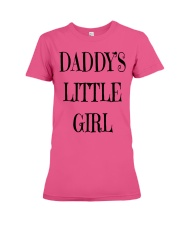 Daddy's Little girl Premium - Classic Tee Tank top Premium Fit Ladies Tee front
