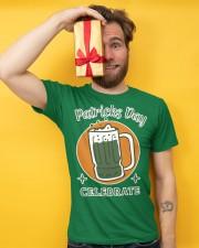 Patricks day celebrate Premium T-shirt Premium Fit Mens Tee apparel-premium-fit-men-tee-lifestyle-front-08