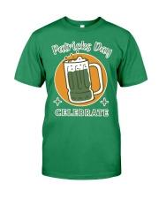 Patricks day celebrate Premium T-shirt Premium Fit Mens Tee front