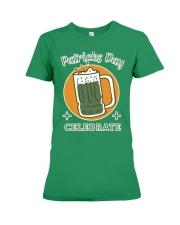 Patricks day celebrate Premium T-shirt Premium Fit Ladies Tee thumbnail