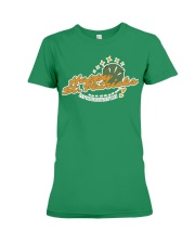 It's your lucky day happy St Pattricks  Premium Fit Ladies Tee tile